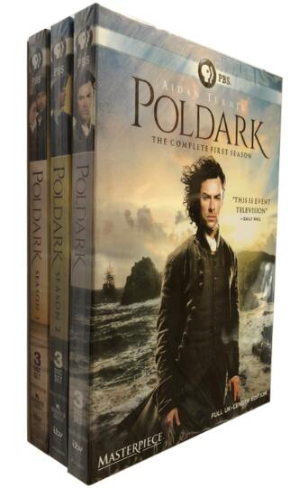 Masterpiece Poldark Complete Seasons 1, 2 & 3
