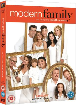 Modern Family Season 8 -uk region
