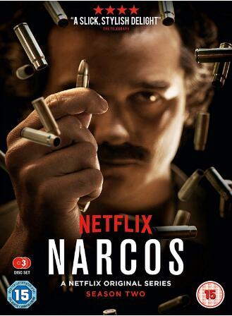 Narcos Season 2 -uk region