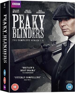 Peaky Blinders Series 1-4 Boxset -uk region