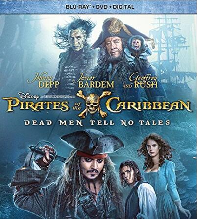 Pirates of the Caribbean Dead Men Tell No Tales [Blu-ray]