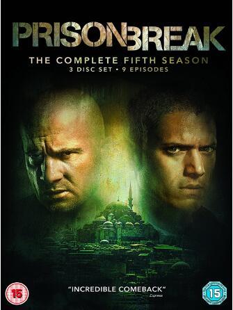 Prison Break season 5 -uk region
