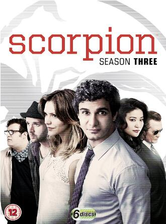 Scorpion Season 3 -uk region