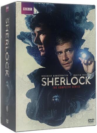 Sherlock: Complete Series 1-4