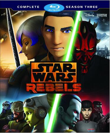 Star Wars Rebels: Season 3 [Blu-ray]