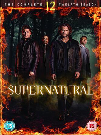 Supernatural Season 12 -uk region