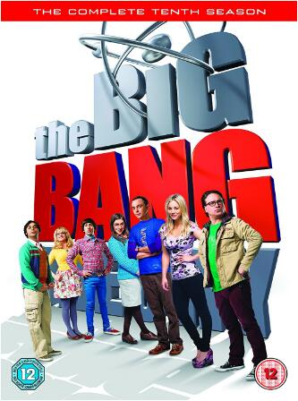 The Big Bang Theory Season 10 -uk region