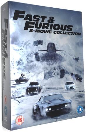The Fate and the Furious 1-8 [UK Region]