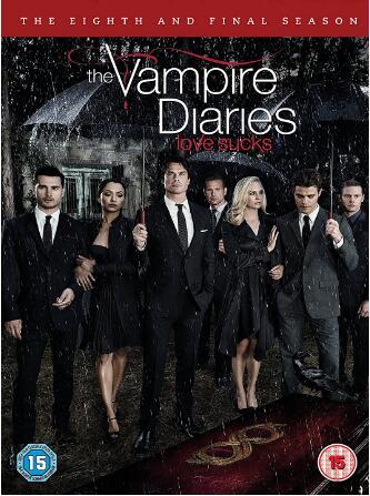 The Vampire Diaries Season 8 -uk region