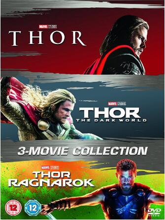 Thor 1-3 Box Set (UK Region)