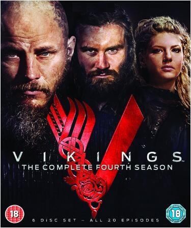 Vikings Complete Season 4 -uk region