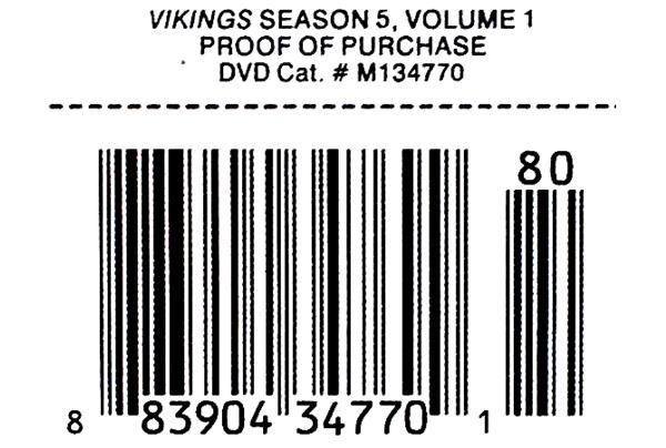 Vikings Season 5 Volume 1 5 - DVD wholesale