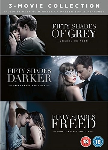 Fifty Shades 3-Movie Collection [UK Region]