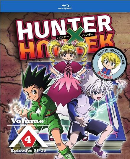 Hunter x Hunter Set 4 [Blu-ray]
