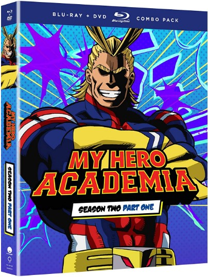My Hero Academia: Season Two, Part One [Blu-ray]