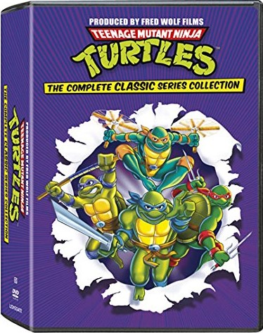 TMNT – Teenage Mutant Ninja Turtles: The Complete Classic Series Collection