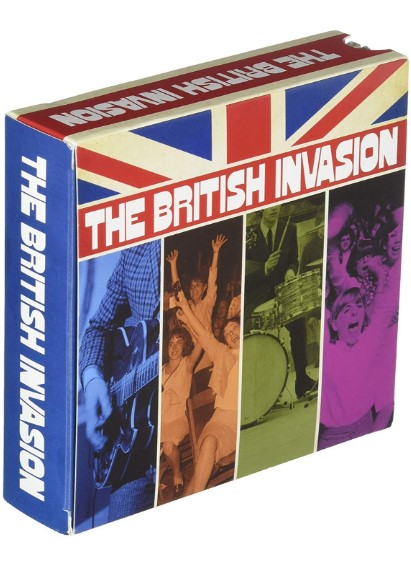 The British Invasion (8CD+1DVD)