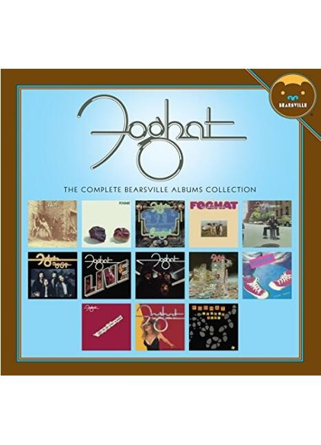 The Complete Bearsville Albums Collection by Foghat