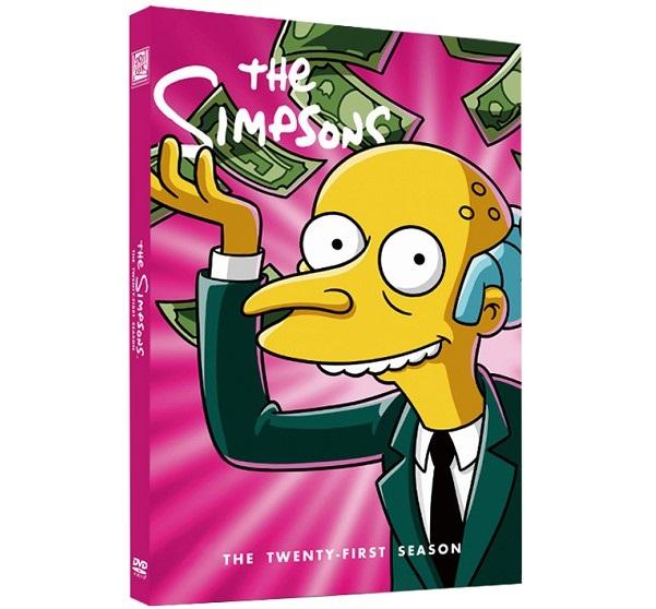 The Simpsons Season 21 Dvd Wholesale