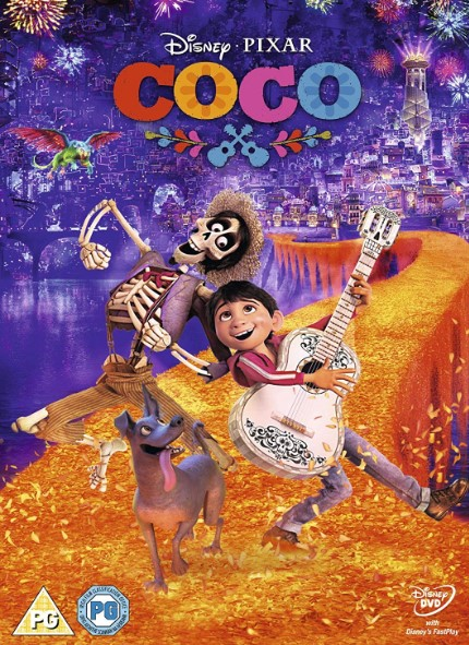 COCO DVD – UK Region