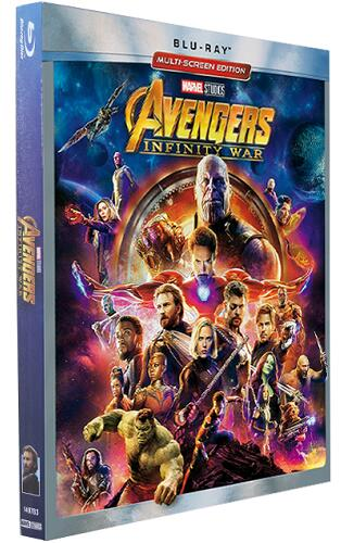 Avengers Infinity War [Blu-ray]