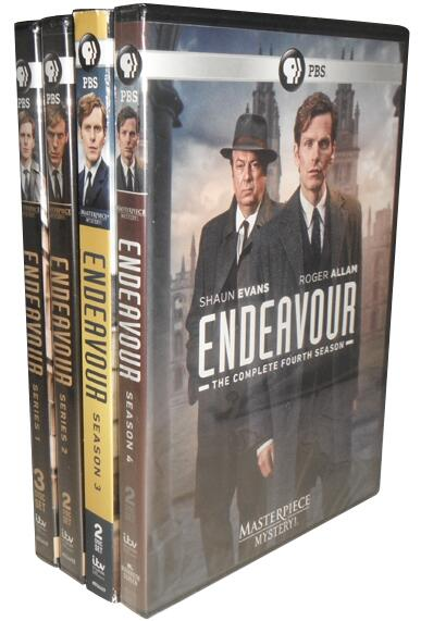 Masterpiece Mystery!: Endeavour Pilot & Series 1-4 Collection