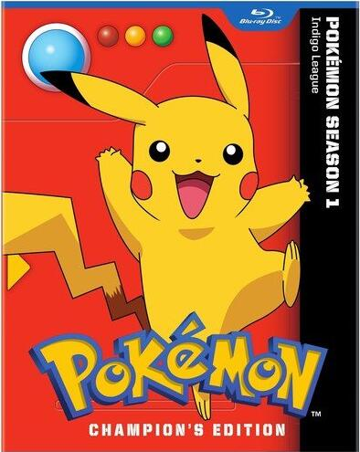 Pokemon: Indigo League – Season 1 Champion's Edition [Blu-ray]