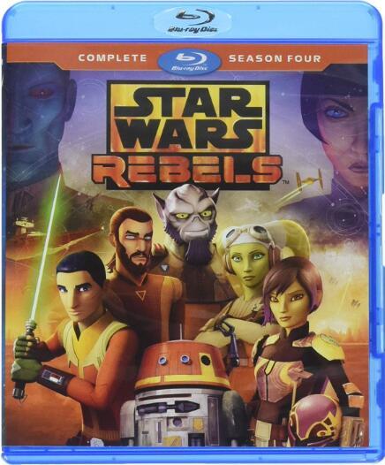 Star Wars Rebels: Season 4 [Blu-ray]