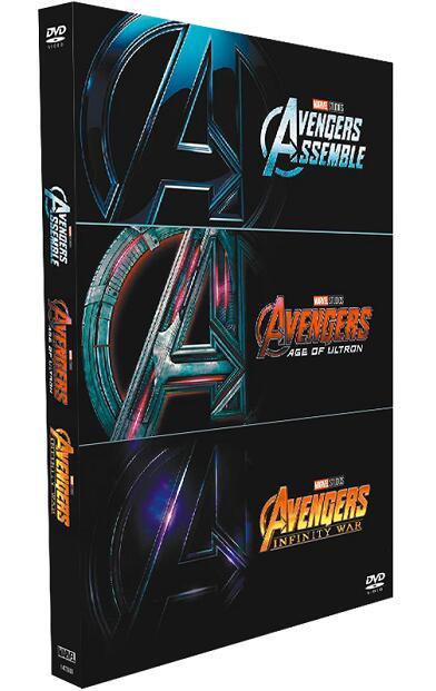 Avengers 1-3 Boxset