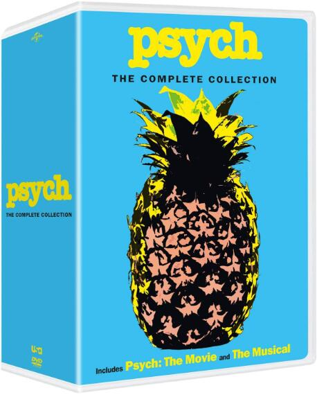 Psych: The Complete Collection 2018