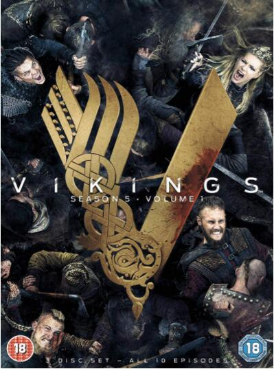 Vikings: Season 5 Volume 1 – Region 2