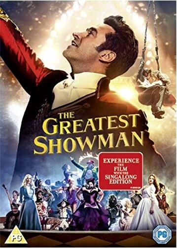The Greatest Showman – Region 2