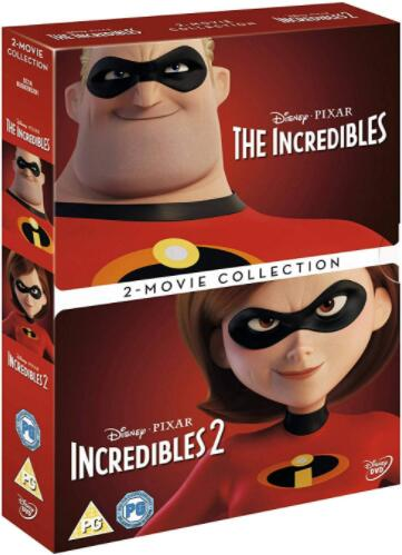 Incredibles 1 & 2 Box set – Region 2