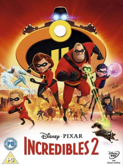 Incredibles 2 – Region 2