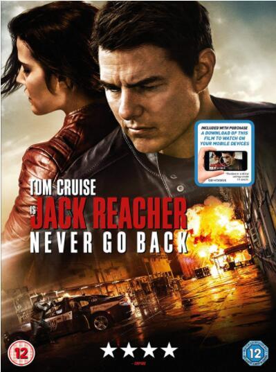 Jack Reacher: Never Go Back- Region 2
