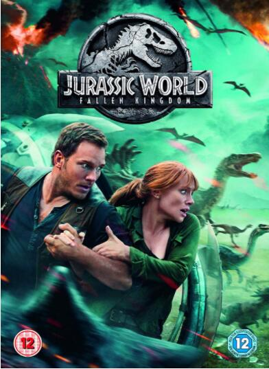 Jurassic World: Fallen Kingdom – Region 2