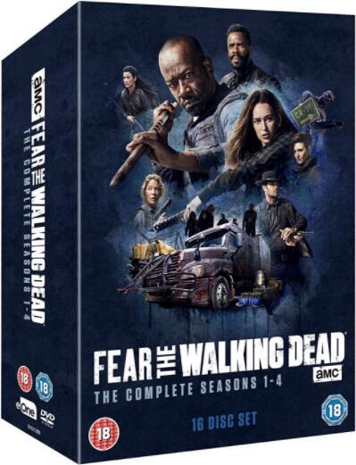 Fear The Walking Dead: Season 1-4 [Region 2]