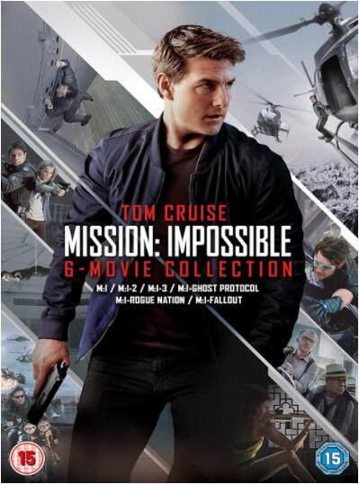 Mission Impossible: The 6-Movie Collection [Region 2]