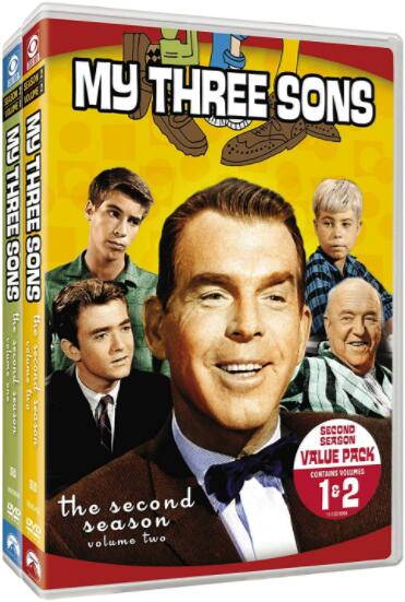My Three Sons: Season 2, Vols. 1-2