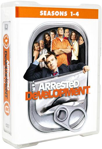 Arrested Development: Season 1-4