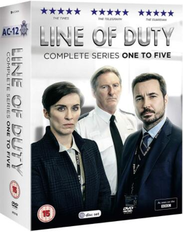 Line of Duty: Series 1-5 (UK-Region)