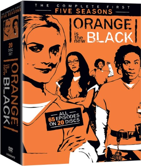 Orange Is The New Black: Seasons 1-5