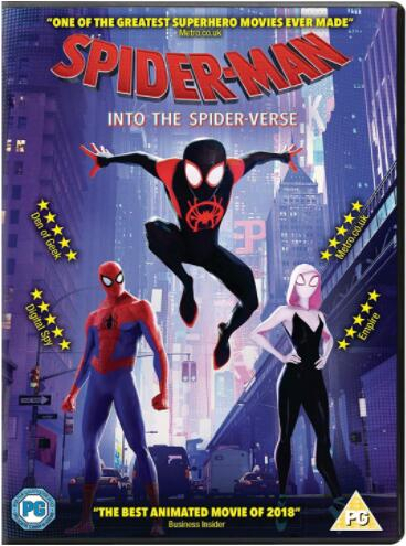 Spider-Man: Into The Spider-Verse [UK Region]