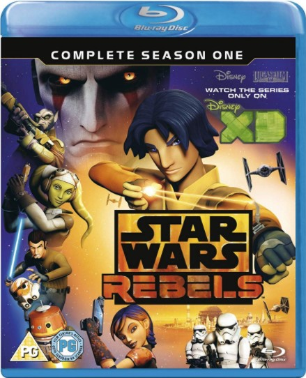 Star Wars Rebels: Season 1 – UK Region [Blu-ray]
