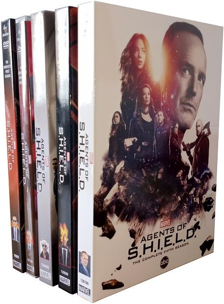 Marvel's Agents of S.H.I.E.L.D.: Season 1-5