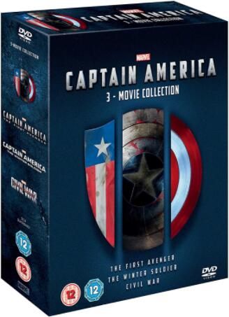 Captain America 1-3 [UK Region]