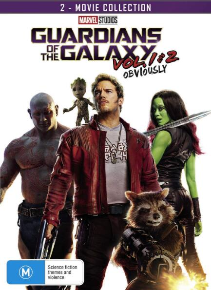 Guardians of the Galaxy Vol.1 & 2 2-Movie Collection