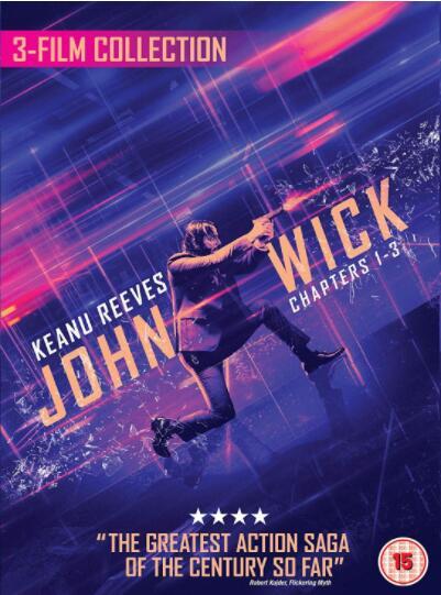 John Wick: Chapter 1-3 [UK Region]