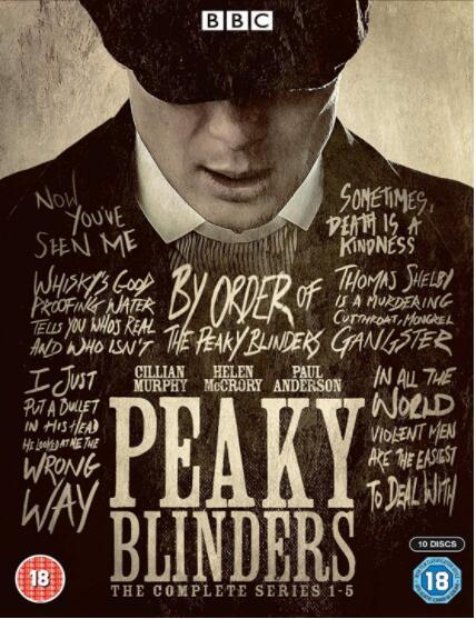 Peaky Blinders: Season 1-5 [UK Region]