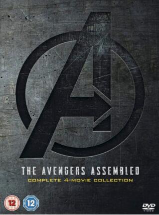 Avengers 1-4 Complete Boxset – UK Region